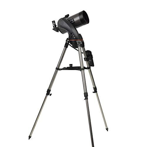 HGERFXC Telescopio, Versione Ottica astronomica Professionale Completamente Rivestita HD 127MM, treppiede Portatile con Ricerca Automatica della Stella