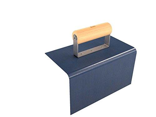 Bon Tool 12-526 Curb Tool with 1/2' Radius and 5' Lip Width, 9 x 5'
