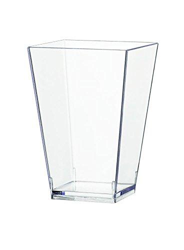 Sovie Servingware   Einweg Fingerfood Schale 100 ml aus PS (Polystyrol)   Glas Behälter Modernes Design   40 Stück