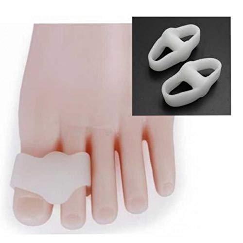 PHYZGHN Nueva Toe Separadores Camillas rectificadores for superposición Ortesis amp;Los Dedos en Martillo Pies Zapatos del Cuidado Plantillas 1 par