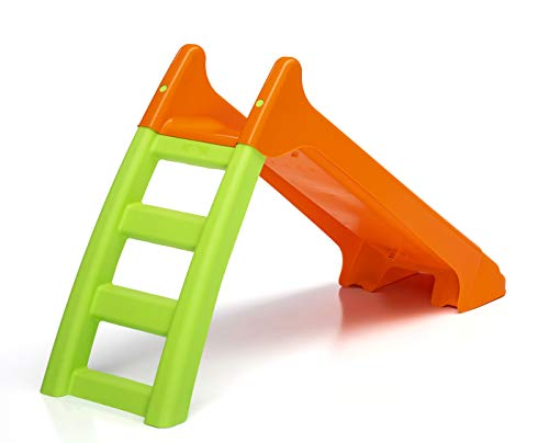 Starplast Rutsche Kinder Rutschbahn ideal als Wasserrutsche für Planschbecken