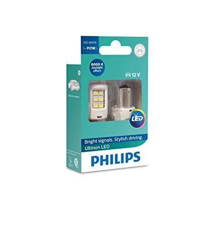 Oferta de Philips Ultinon LED foco de señalización para automóvil (P21W white)