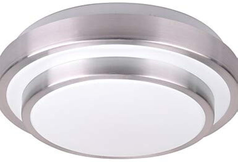 Moderne Lampe15W LED Deckenleuchte aus Aluminium für bündige Montage Acryl Wohnzimmer Schlafzimmer Esszimmer Lampe AC90-240V, Wei-90-240v  3283