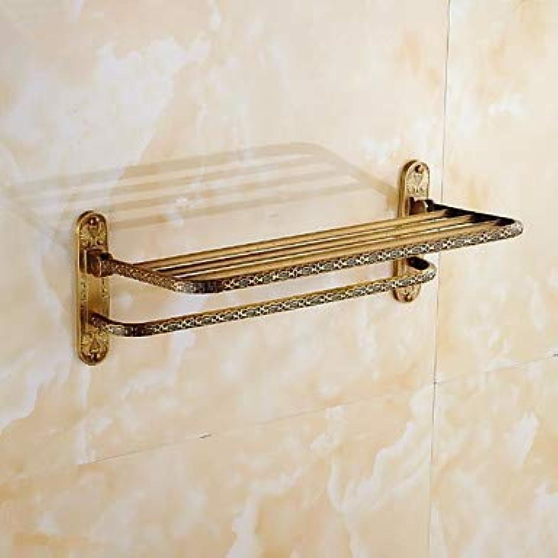 Bathroom Shelf New Design Cool Modern Brass 1pc Wall Mounted