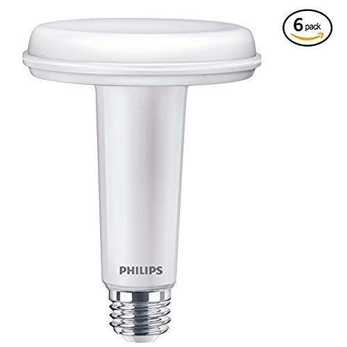 Philips LED Dimmable BR30 Light Bulb: 650-Lumen, 5000-Kelvin, 9.5-Watt (65-Watt Equivalent), E26 Base, SlimStyle, Daylight, 6-Pack