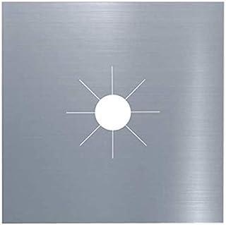 KIRALOVE - 1 pièce de protection pour plan de cuisson, feux à gaz, tapis anti-adhésif, facile à nettoyer, cuisine, couleur...