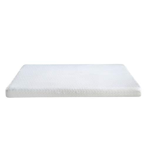Classic Brands Cool Gel Memory Foam 6-Inch Mattress, CertiPUR-US Certified , Twin, White