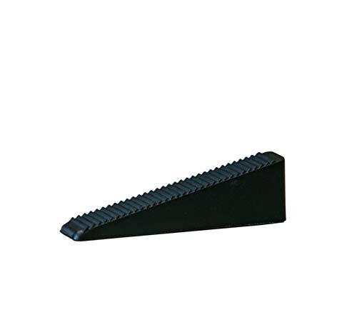 peygran azulejos de nivelación sistema de 100cuñas (negro piezas). lippage libre para azulejos y piedra instalación para Pro y DIY. La más preciso y fiable producto en el mercado.