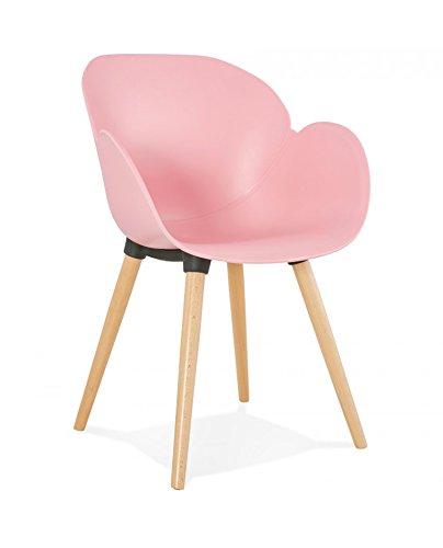 Générique Silla Design sitwel Pink 59x 59,5x 84,5cm