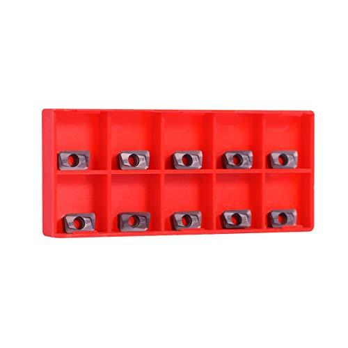 10 piezas de insertos de puntas CNC de carburo cementado Insertos de hoja de pala para herramienta de corte de torno APMT1135PDER-M2 VP15TF