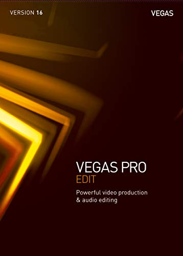 VEGAS Pro|16 EDIT|1 Device|Perpetual License|PC|Disc|Disc