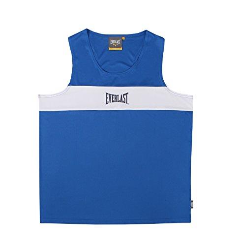 Everlast Erwachsene Boxartikel 4424 Competition Contrast PNL Vest, Blue/White, M