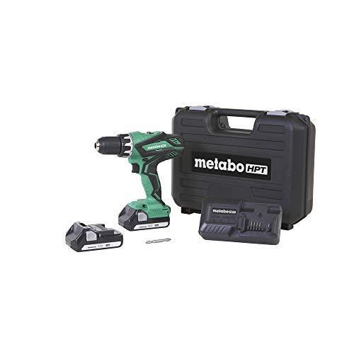 Metabo HPT Cordless Driver Drill Kit | 18V, Includes 2...