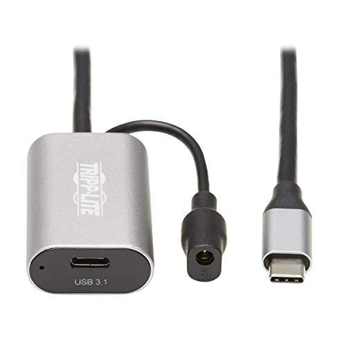 Tripp Lite USB C Active Verlängerungskabel USB C auf USB C USB 3.1 Gen 1 M/F 5M (U330-05M-C2C)