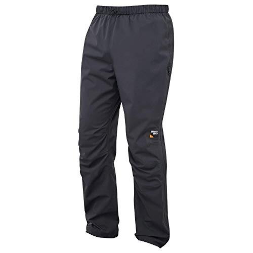Sprayway Walking M - Pantaloni da Pioggia da Uomo, Taglia S, Colore: Nero