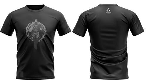 Camiseta Assassin's Creed, Banana Geek, Adulto unissex, Preto, GG
