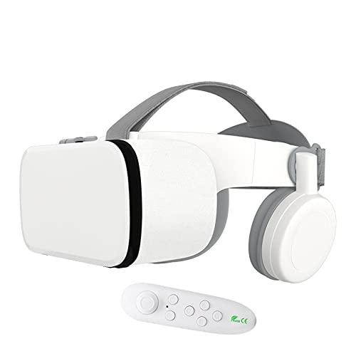 KANGLE-DERI Auriculares VR, Gafas de Realidad Virtual Universal 3D VR Glasses para Películas IMAX y Juegos de VR, para Algunos teléfonos