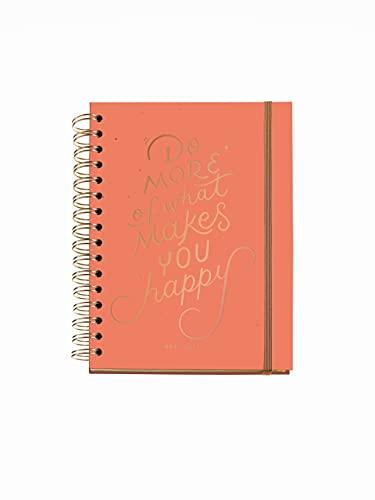 Miquelrius - Agenda Escolar 2021-2022, Tamaño Plus 15 x 21.3 cm, Día Página, Happy Letters Do More,...
