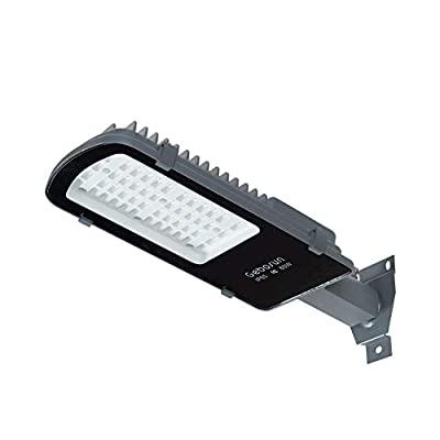 Gebosun 60W LED Outdoor Barn Security Light - 6000LM 6000k Street Floodlight for Security/Area/Yard Lighting(Waterproof IP65) - ETL&DLC Listed (not Solar lamp)