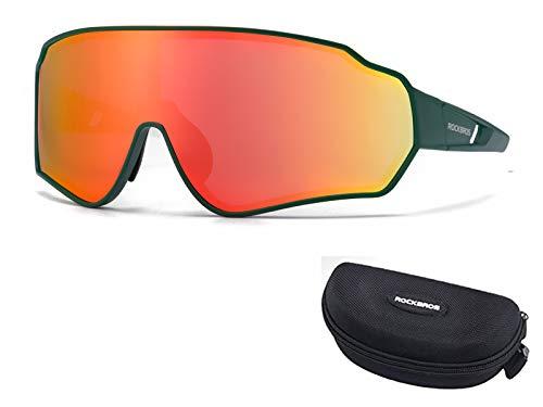 ROCKBROS Gafas Polarizadas de Bicicleta Protección UV400 para Ciclismo Running Pescar Deportes al Aire Libre, para Hombres y Mujeres
