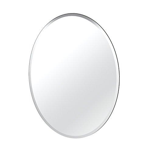 Gatco Beveled Easy Mount Mirror, 32' H x 24' W, Silver
