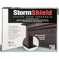 Storm Shield Brand Garage Door Threshold - 16'6