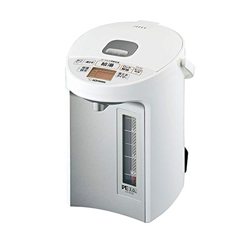 象印 マイコン沸とうVE電気まほうびん 優湯生 3.0L ホワイト CV-GT30-WA
