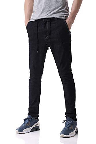 Pau1Hami1ton Vaqueros Skinny,Pantalones Jeans para Hombre, D-01