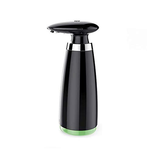 Soap Dispensers Bottles Automatic Soap Dispenser Non-Contact Household Bathroom Kitchen Desktop Dispenser (340ml) Dispenser Pump Bottles - Dish Soap (Color : Black)