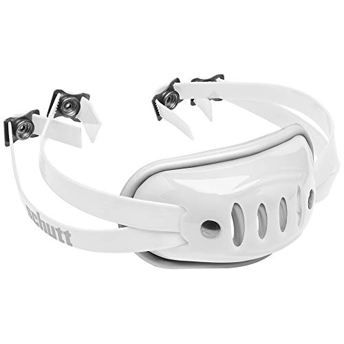 Schutt Sports SC-4 Hard Cup Chinstrap for Football Helmet, White, Youth