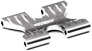 Integy RC Model Hop-ups T5015SILVER Billet Machined Alloy Gear Box Brace for HPI 1/12 Savage XS Flux