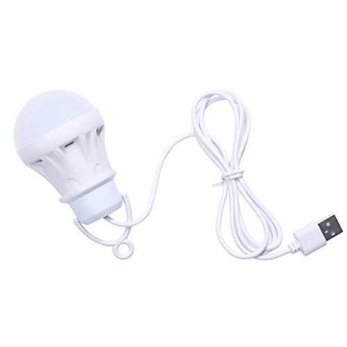 JVSISM 3V 3W USB Birne Licht Tragbare Lampe Led 5730 für Wandern Camping Zelt Reise Arbeit mit Bank Notebook