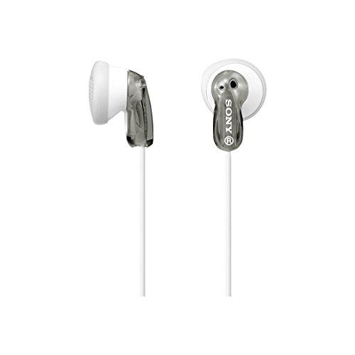 Sony MDR-E9LP Cuffie Auricolari, 104 dB, 16 Ω, 100 mW, Grigio