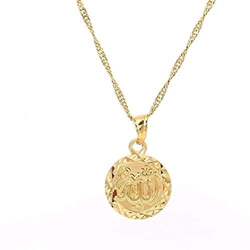 WYDSFWL Collar Oro Claro/Collar de Concha Real Pendientes Conjuntos Joyas Papua Nueva Guinea (Concha Real El Color/tamaño no Puede ser de la Misma Longitud 60cm Collar de Regalo