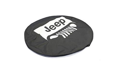 Mopar Jeep Grille Logo Cloth Spare Tire Cover - 82208451AC