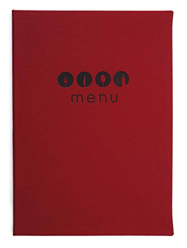 Lacor 28131 Millet Collection Menu Cover, Rood/Oranje