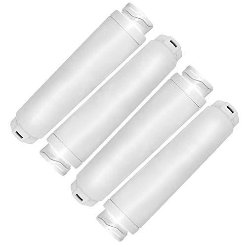 Spares2go - Cartucho de filtro de agua compatible con Rangemaster refrigerador, equivalente a 644845 WF25 BWF644 KWF1000 RF280019 FI50Z000 (paquete de 4)
