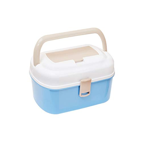 Zoavash Haushalt Multi-Layer-Medizin-Box Kunststoff Medizin Aufbewahrungsbox Tragbare Erste-Hilfe-Kit Hyococ