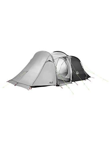 Jack Wolfskin Divide RT komfortable Stehhöhe 4 bis 6 Personen Familienzelt Zelt, Slate Grey, ONE Size