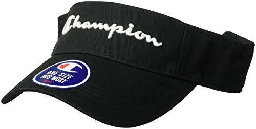 Champion LIFE Men's Twill Mesh Visor, Black, OS