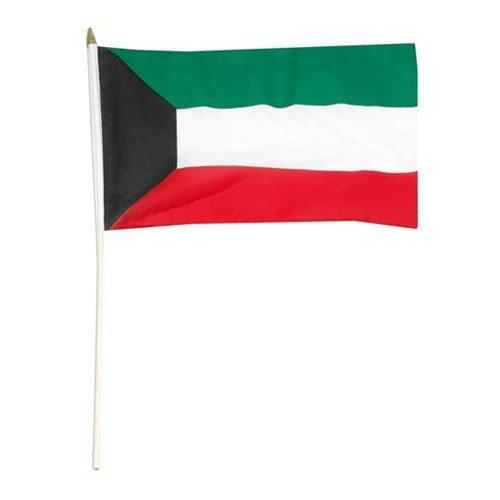 Drapeau du Koweït 12 x 18 cm