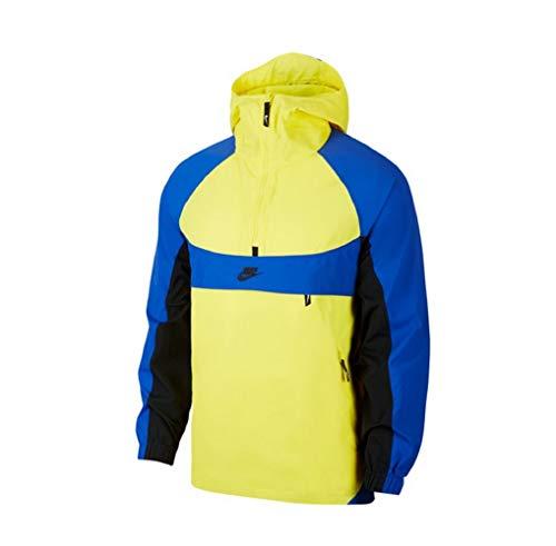 Nike NSW Re-Issue - Chaqueta Cortavientos Yellow/Royal M
