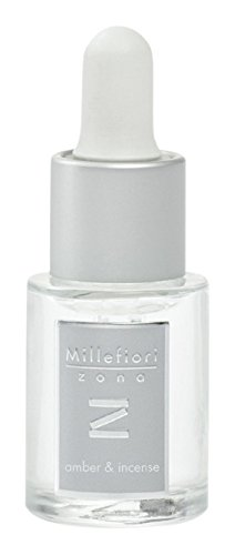 Millefiori Milano Fragancia soluble en agua Zona Amber e Incense (15 ml)