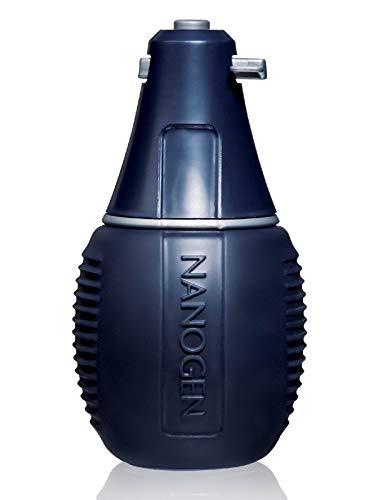 Nanogen Pulverizador de fibra de queratina para engrosar los cabellos, color marrón, 22,5g