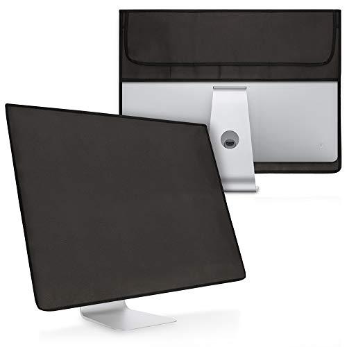 kwmobile Custodia 4in1 Compatibile con Apple iMac 27' / iMac PRO 27' - Fodero Monitor, Case Tastiera, Cover Magic Mouse e Porta-Cavi - Grigio Scuro