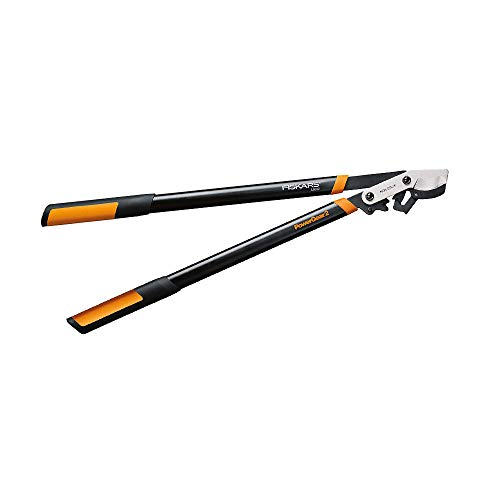 Fiskars PowerGear2 Bypass Lopper, 32 Inch, Black/Orange (Limited Edition)