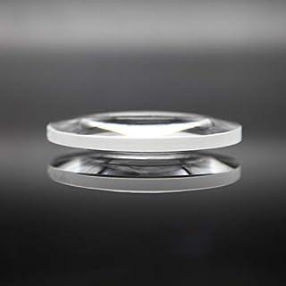 WHHHuan 1pc Diamètre 25 mm Longueur focale 50 mm Optique biconvexe lentille Optique en Verre Custom Factory Prisme et lent...