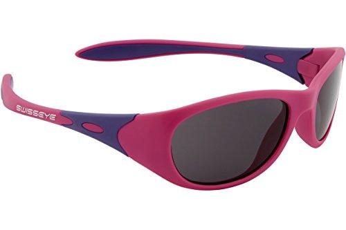 Swiss Eye Toddler, Gafas de sol infantiles. Unisex niños, Pink Matte Viola, extra-small