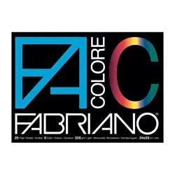 Fabriano 009041 Cartella Fabriano Colore, 5 Colori, 33 x 48 cm