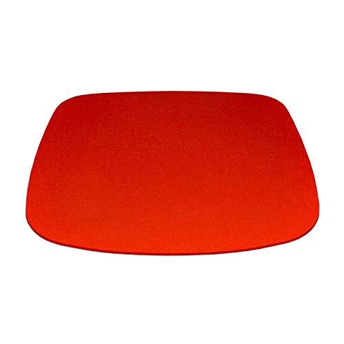 Hey Sign Sitzauflage Eames Plastic Armchair mango AR/Vitra ca. 37 * 35 cm Stärke 5 mm